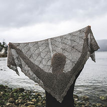 Intermediate Lace Shawl Class: Granite Bay