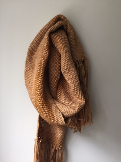 Introduction to Weaving: Asymmetrical Scarf