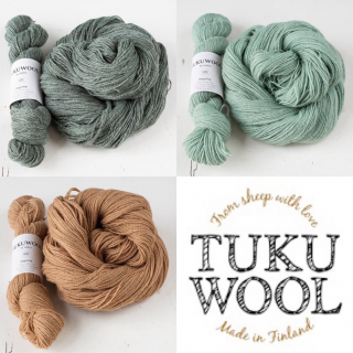 New Colours of Tuku Fingering Wool