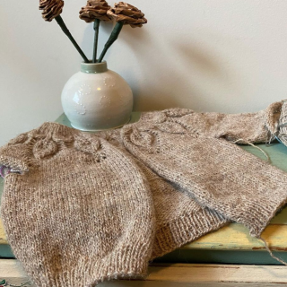 Quince and Co Owlet Baby Sweater