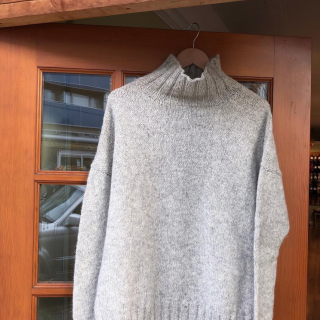 Better Than Basic Pullover in Quince & Co. Owl