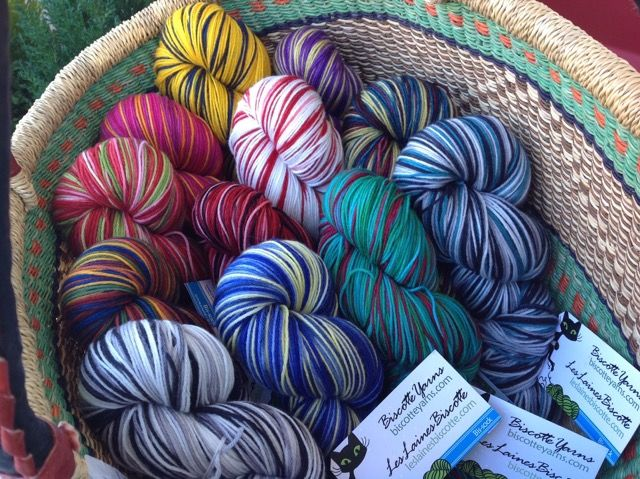 Our Newest Addition--Self Striping Sock Yarn!