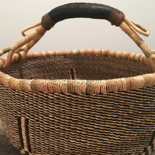 Baba Tree Baskets in Neutral Patterns