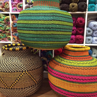 10 Cow Baskets from Baba Tree