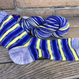 Biscotte Self-Striping Sock Yarn