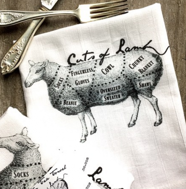 Whimsical Tea Towels