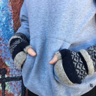 Sun and Moon Mittens