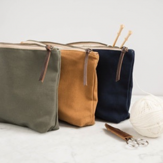 New Twig and Horn Canvas Tool Pouches