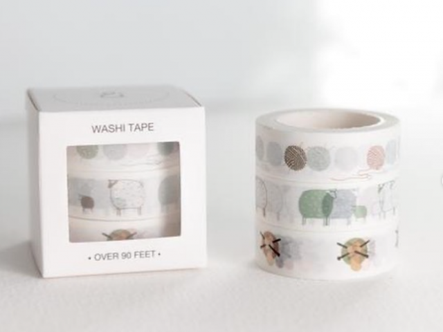 Twig and Horn Washi Tape