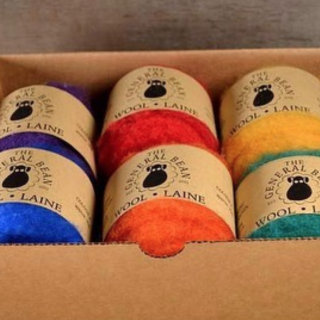 New Canadian Wool Felting Fibre