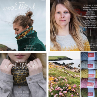 Wool Week Annual Vol. 6, 4, and 3 - One Left