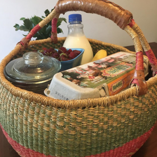 13 Year Old Baba Tree Basket