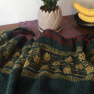 Moonstruck Knits Mare Shawl Progress