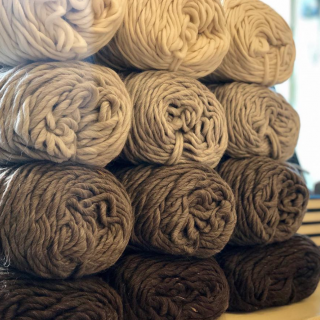 Natural Sheep Tone Wool