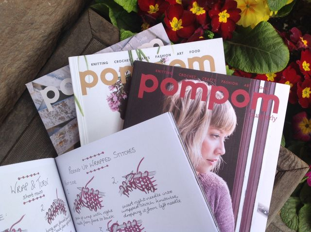 Pom Pom Quarterly, a knitting magazine + more!