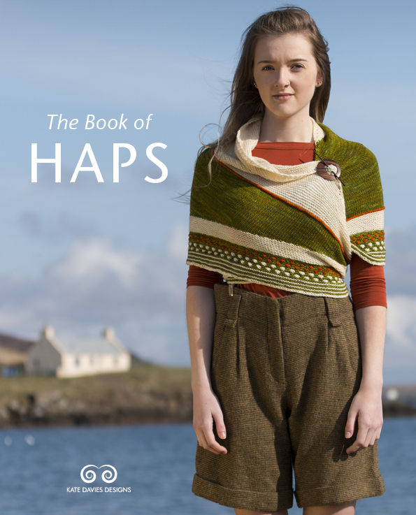 "Kate Davies and Jen Arnall Culliford's new publication <a href=""http://www.ravelry.com/patterns/sources/the-book-of-haps/patterns"">The Book of Haps</a>"