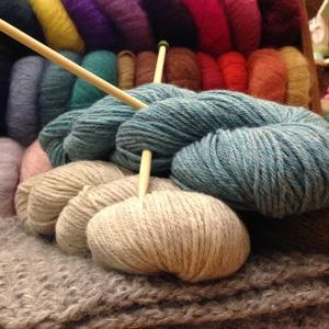 January Beginner Knitting Class--1 space available!
