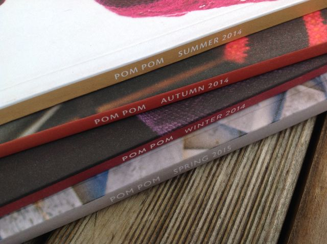 Pom Pom Quarterly Issues 9, 10, 11 and 12