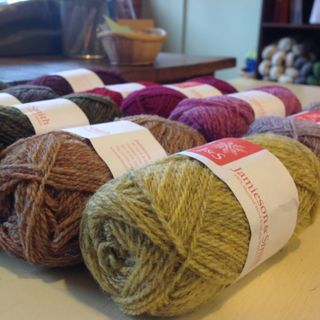 Introducing Jamieson and Smith Shetland Wool