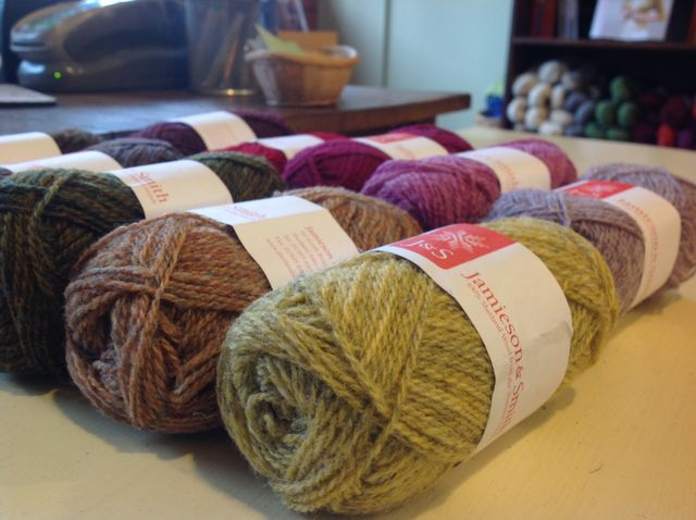 Jamieson and Smith 2 Ply Jumper Weight Dyed Shades