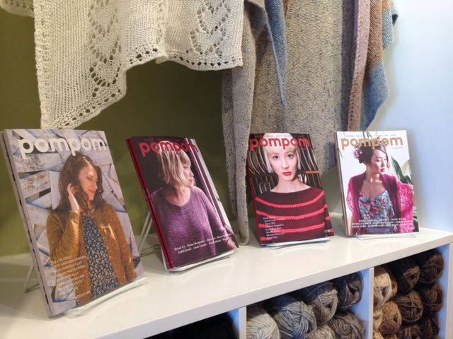 "<a href=""http://www.pompommag.com/"">Pom Pom Quarterly</a>--the magazine for lovers of independent craft"