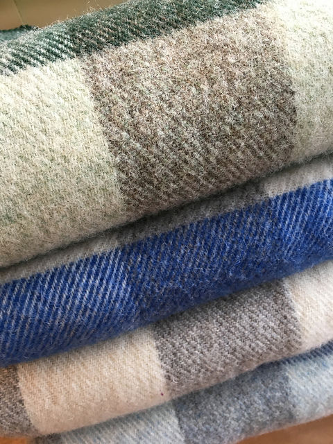 Woolen Blankets from PEI