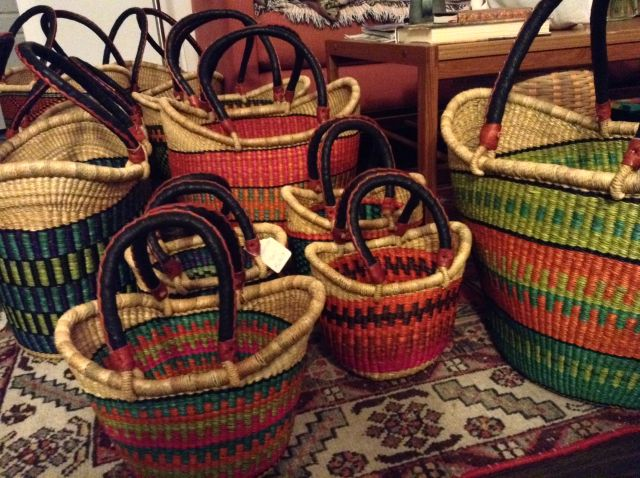 "Nyariga baskets from <a href=""http://babatree.com/"">Baba Tree</a>"