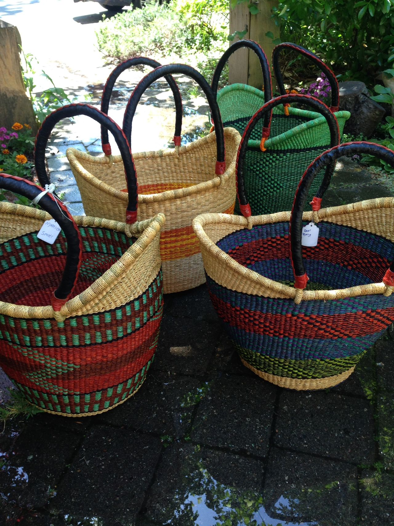 Baba Tree Baskets from Ghana
