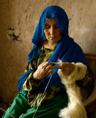 © From the Mountain Afghan Cashmere