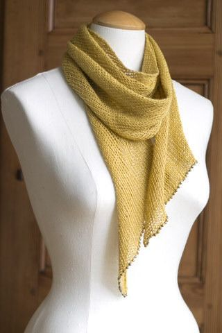 Bias Scarf in Euroflax Linen