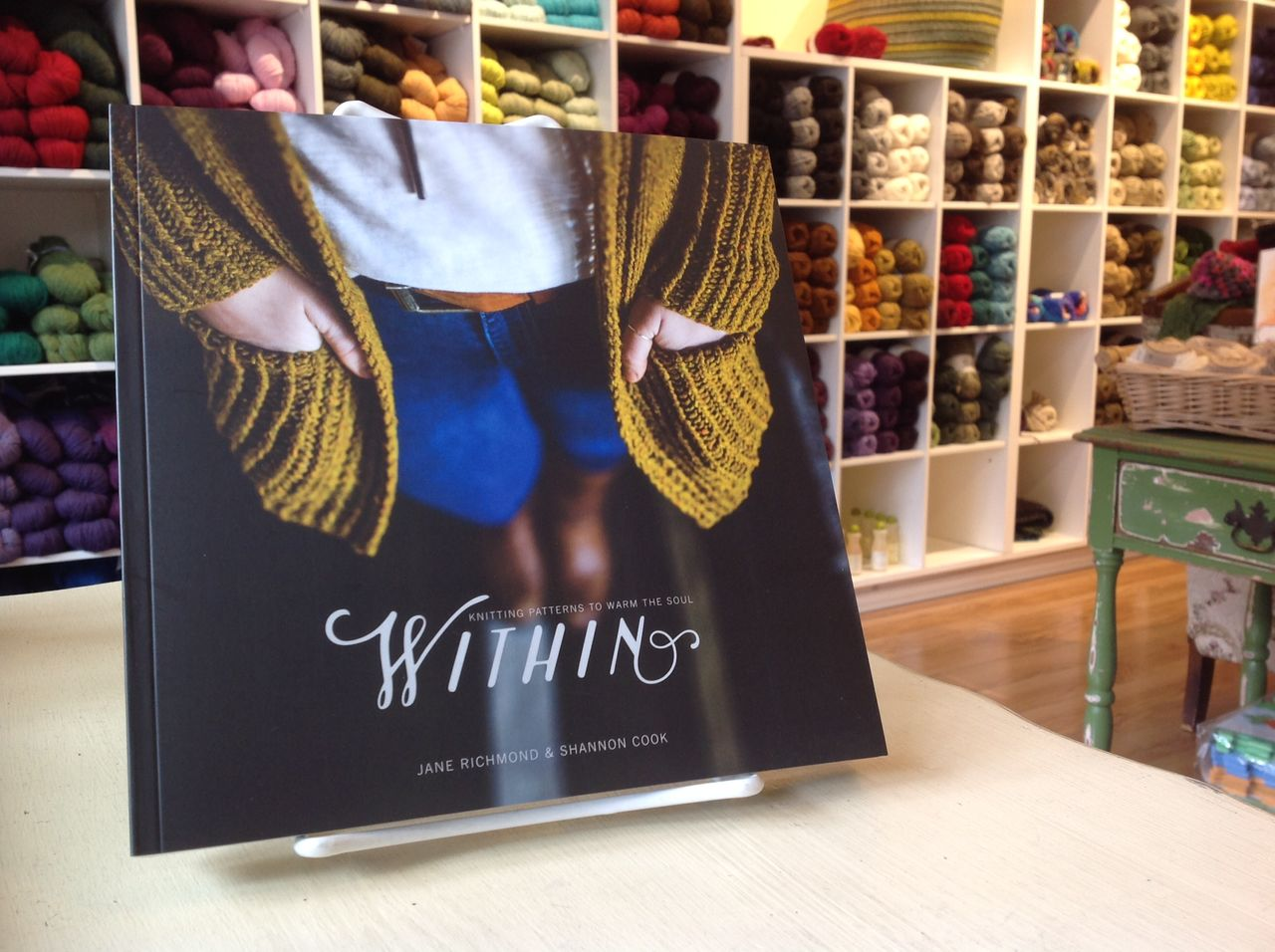 Within, knitting patterns to warm the soul