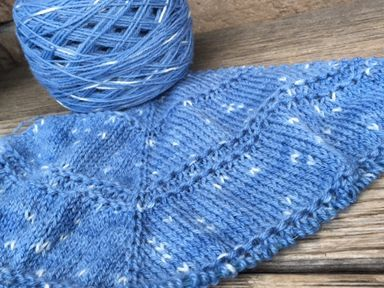 Zilver Shawl in Firefly Twighlight