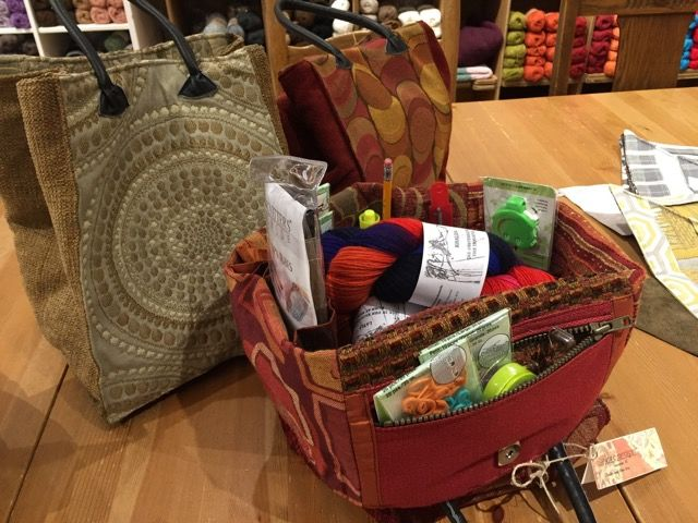 Kas Designs Knitting/Project Bag
