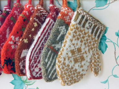 Advent Calendar Mittens