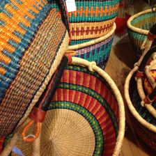 Fair-Trade African Baskets
