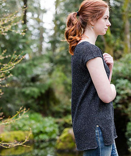 Simple Tee in Shibui Twig