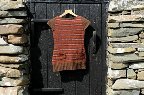 Melby Dress from Knit Real Shetland