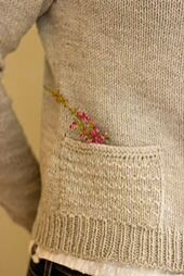 Heathered Cardigan pocket