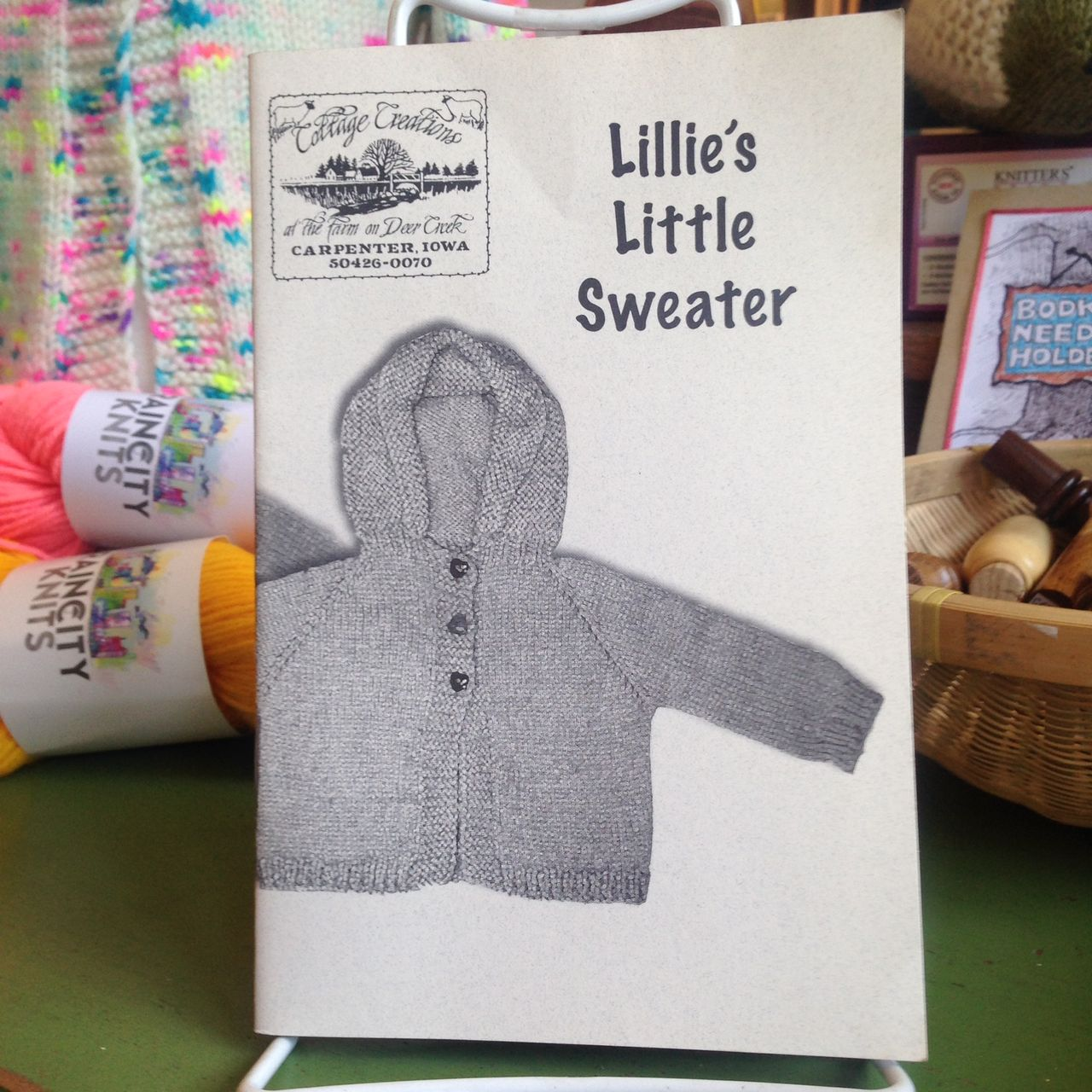 Lillie's Little Sweater by Cottage Creations