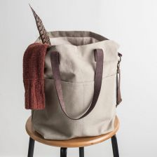 Twig & Horn Canvas Tote