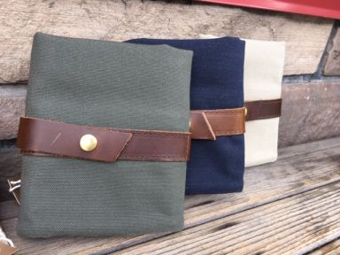 Twig & Horn Canvas Needle Case