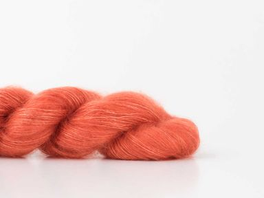 Shibui Silk Cloud in Poppy