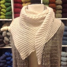Basic Wedge Shawl - Free Pattern