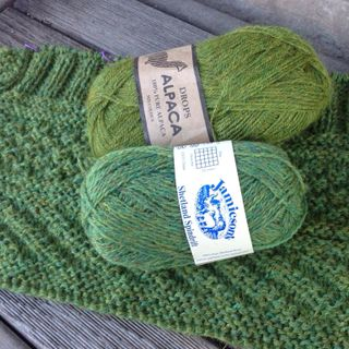 Our New Favourite Yarn Combo . . .