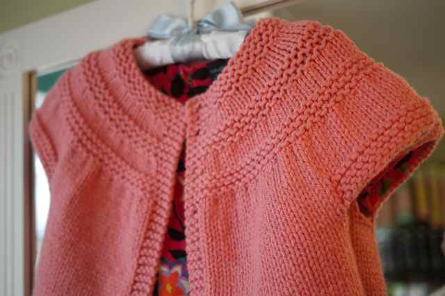In Threes Baby Cardigan Three Bags Full Yarn Store