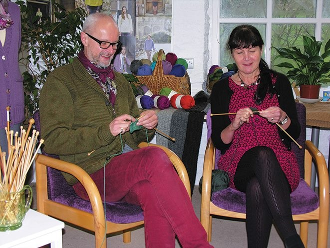 Martin Storey Knitting Patterns : Martin Storey Knit-a-Long Starts This Week Three Bags Full Yarn Store - Van...