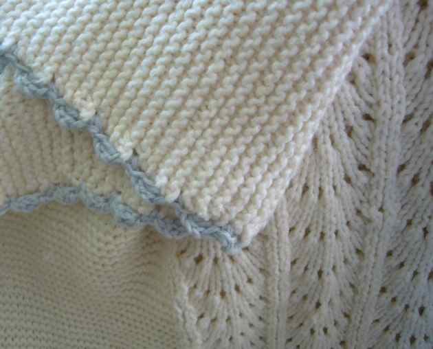The calming blanket detail
