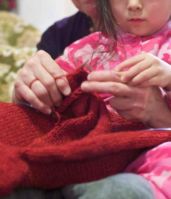 knitting new year 1