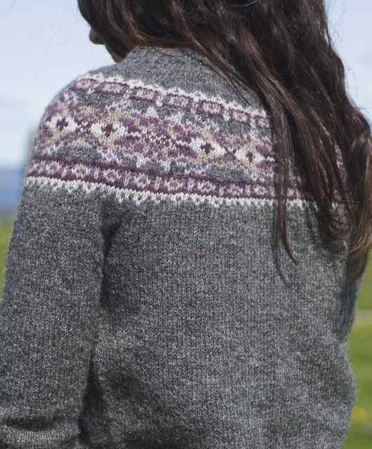 Fair Isle Knitting Kits Canada : The art of fair isle knitting plum frost cardigan