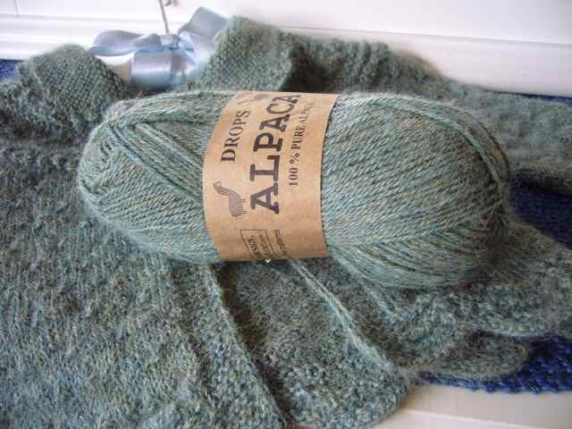 Our Alpaca Baby Sweater Three Bags Full Yarn Store